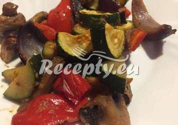 Grilovaná zelenina s parmazánem