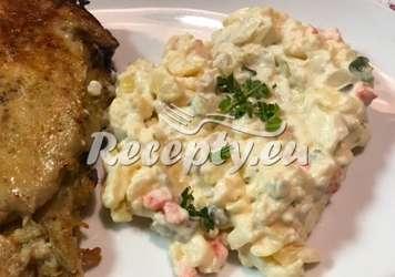 Míchaný bramborový salát Recepty na přílohy