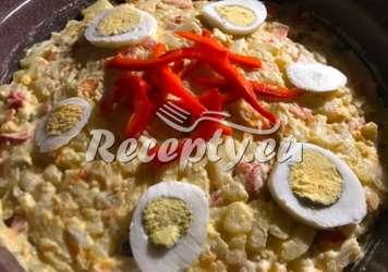 Míchaný zeleninový salát s brambory