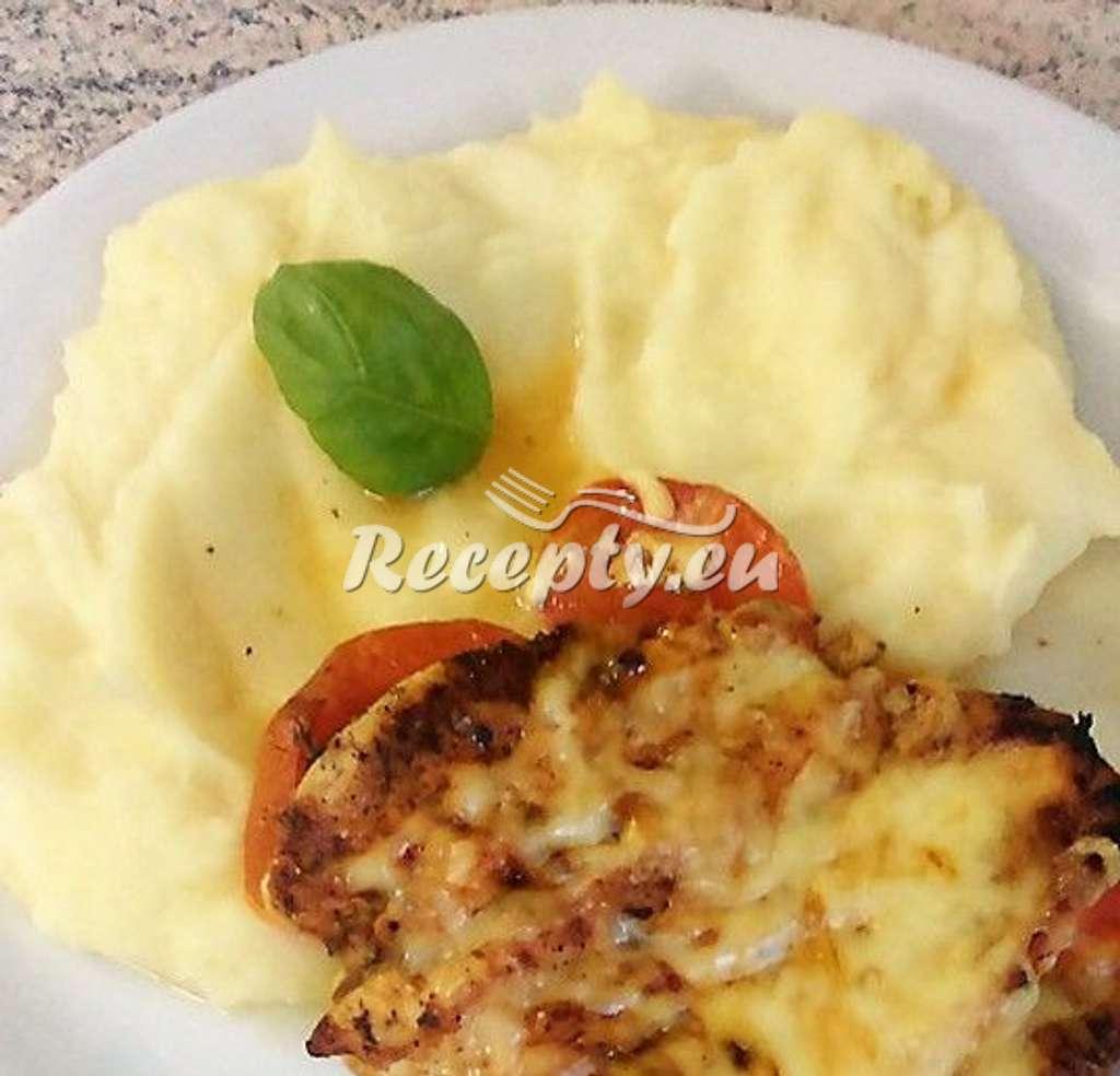 Bramborová kaše s máslem