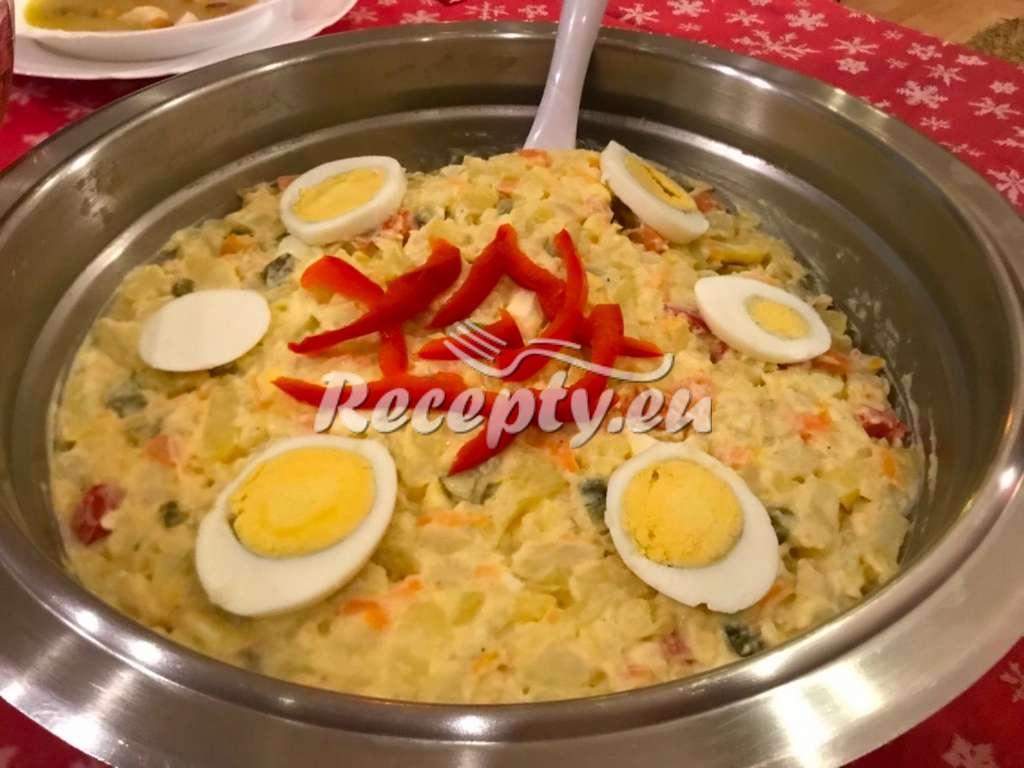 Bramborovo-batátový salát