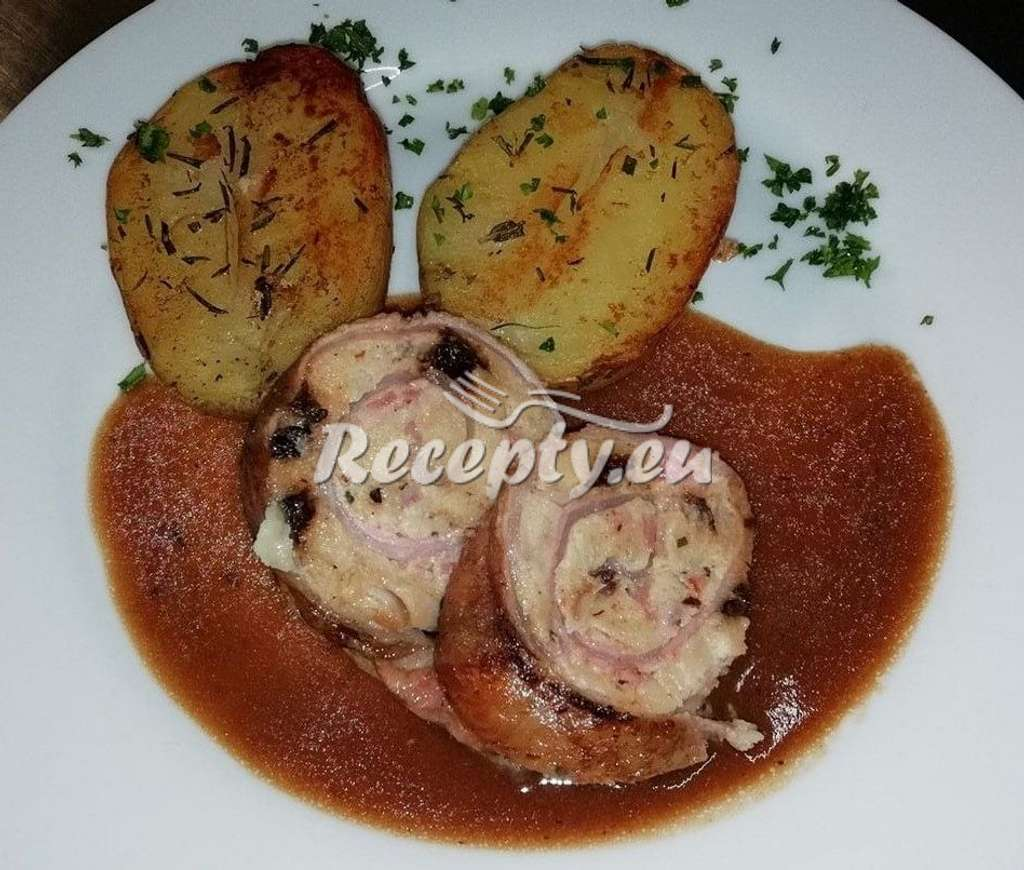 Rozmarýnové pečené brambory